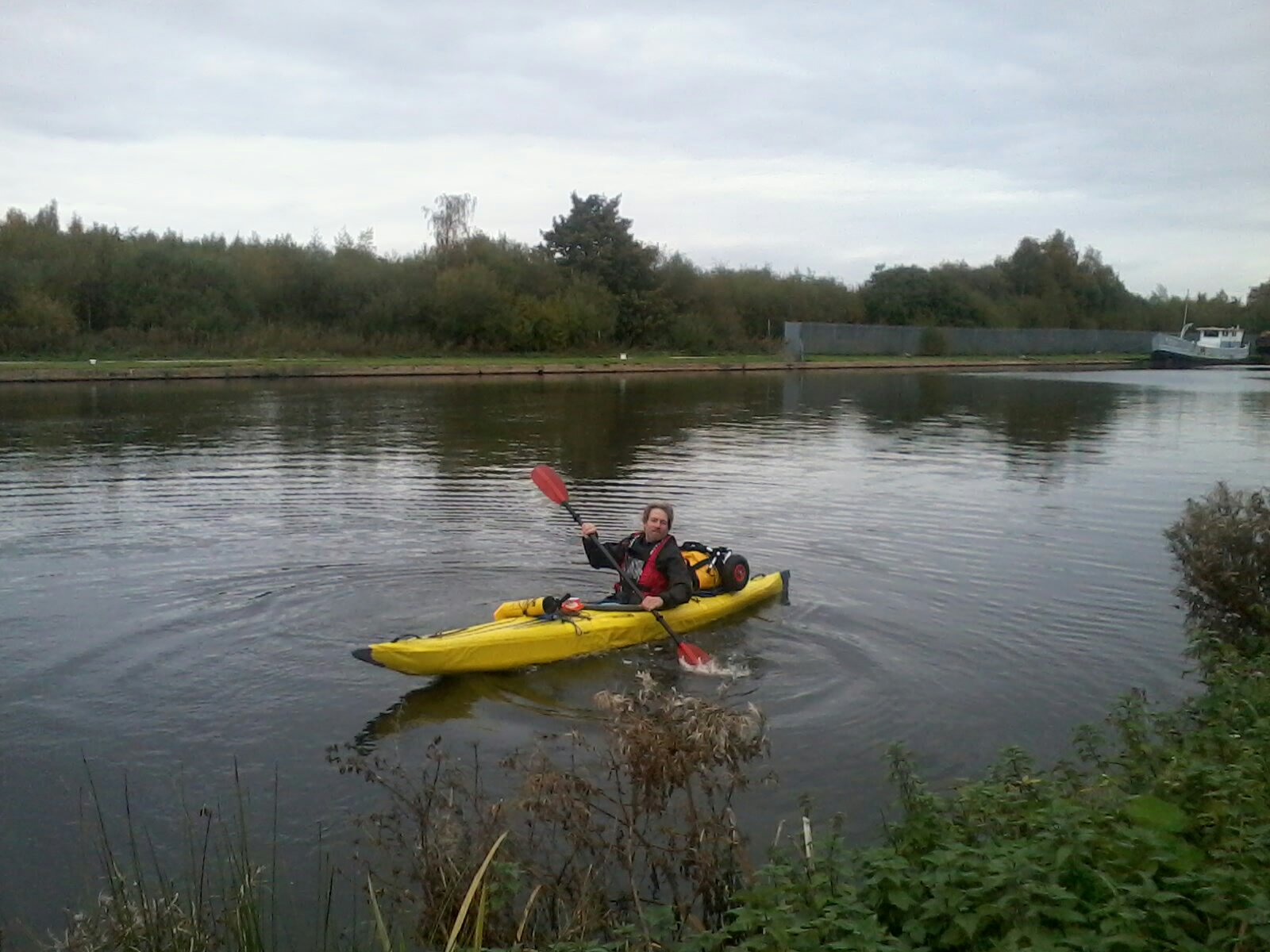Paddle Across The Pennines Finished
